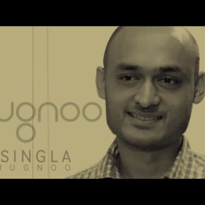 Samar Singla is the Famous Entrepreneur of Chandigarh. Image specify his picture .