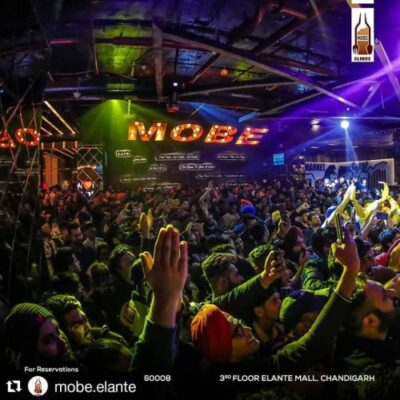 MOBE is a place where we can enjoy Nightlife in Chandigarh