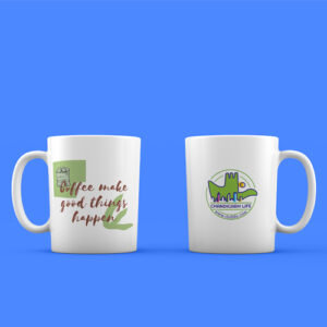 Coffee mug is Elegant and shiny that can fit anywhere.,Best to carry across office or travel.