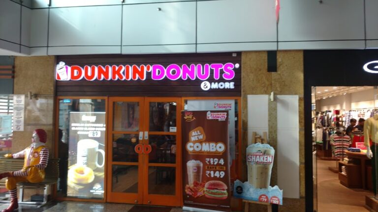Dunkin donuts provides a best quality of cakes in Chandigarh. The purpose of image is to give details about the this.
