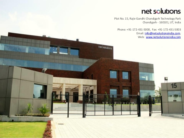 Net Solutions focus on UX and UI .